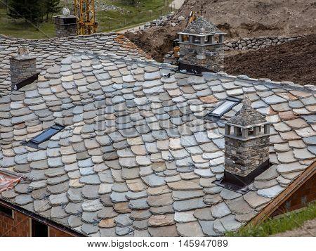 Modern Slate Tile Roof