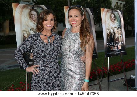 LOS ANGELES - AUG 31:  Melissa Claire Egan, Eleonore Dailly at the