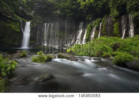Shiraito Falls located in Fujinomiya, Shizuoka, Japan