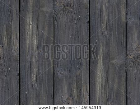 Black Weathered Wooden Plank Door Seamless Background Pattern
