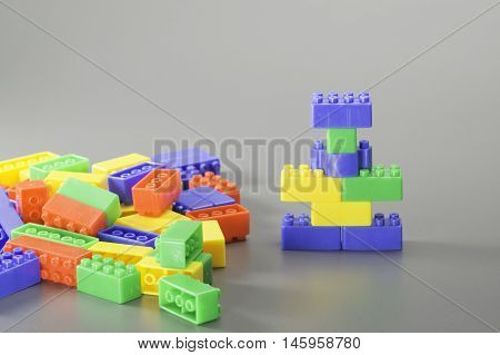 Colorful Brick Toy