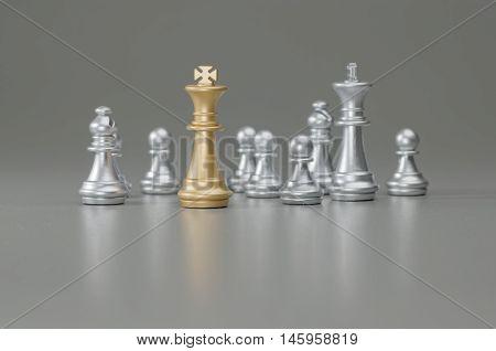 Golden King Chess