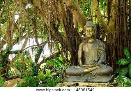 The Buddha Statue at  Wat Rong Khun
