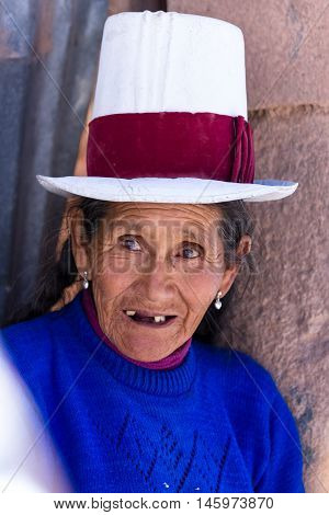 Native Peruvian Woman