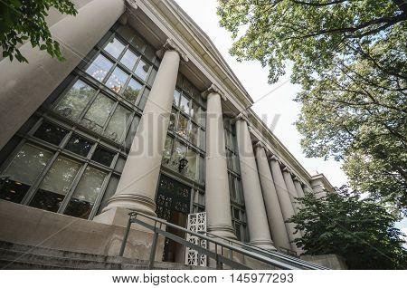 Columbia University in Manhattan, New York, USA