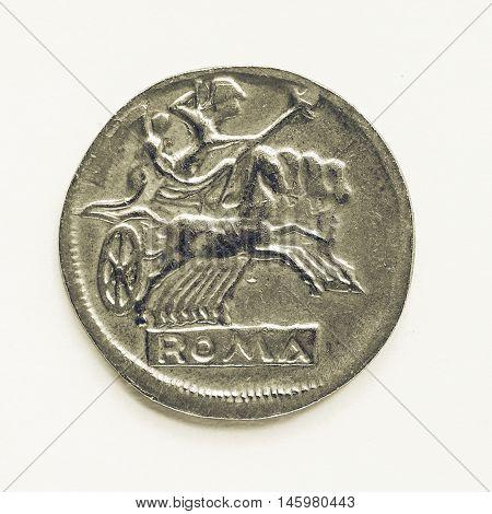 Vintage Old Roman Coin