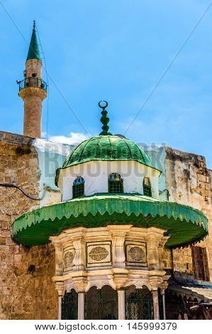 Al Jazzar Mosque in the old city of Acre - Israel