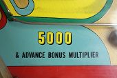 Retro Pinball Machine Arcade Game with Flippers poster