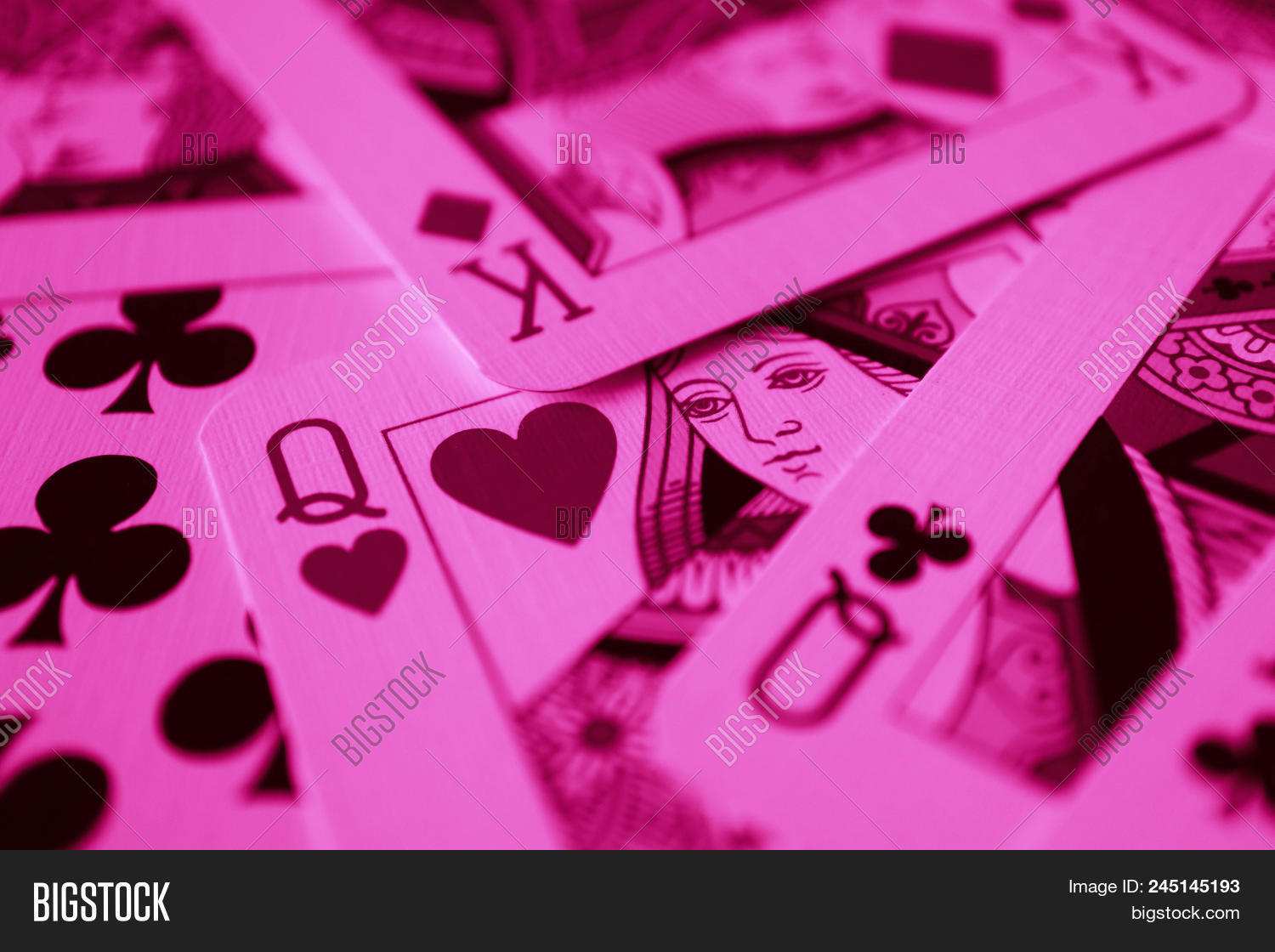 Queen Red Hearts Macro Image & Photo (Free Trial) | Bigstock