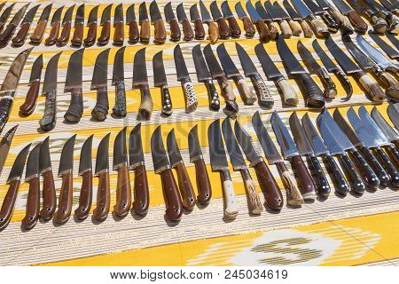 Decorative Souvenir Blades And Knives. Selling Souvenir Blades And Knives. Trading With Handmade Kni