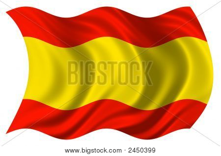 Spanish Flag Psd