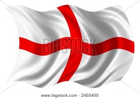 England Flag Psd