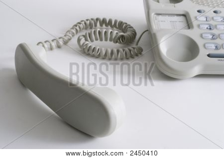 Close Up Office Telephone