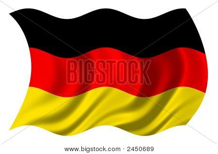 German Flag Psd