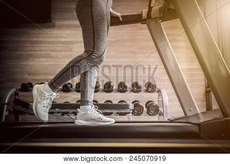 Exercise In Fitness, Healthy Sport, Fit And Firm