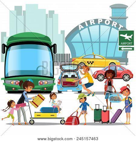 Airport Transfer, Vector & Photo (Free Trial) | Bigstock