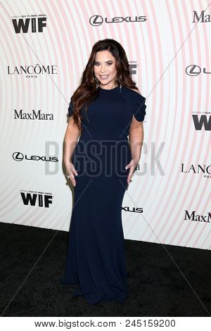 LOS ANGELES - JUN 13:  Brooke Lewis at the Women In Film 2018 Crystal + Lucy Awards at the Beverly Hilton Hotel on June 13, 2018 in Beverly Hills, CA