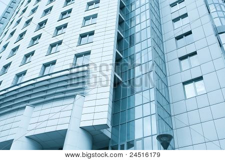 contemporary texture of modern downtown, management property