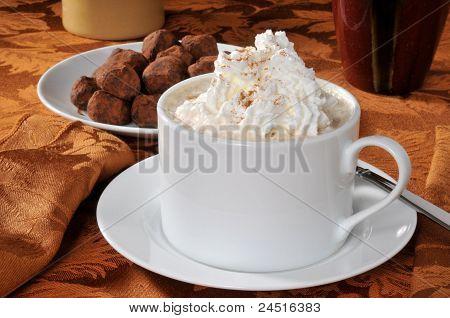 Hot Chocolate And Truffles