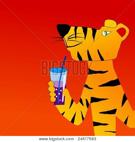 Tiger Drinks Cocktail