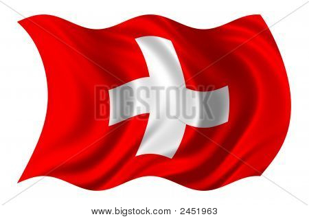 Swiss Flag Psd