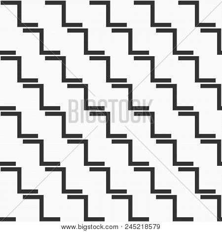 Abstract Seamless Pattern. Modern Stylish Texture. Repeating Geometric Tiles. Bold Rectangular Eleme