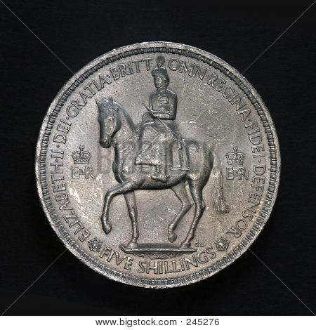 Five Shilling Coin