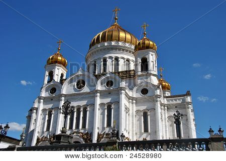 Russia, the temple of Christ, the savior