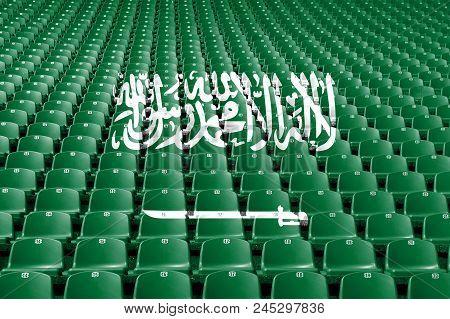 Saudi Arabia Flag Stadium Seats, Saudi Arabia Stadium Flag