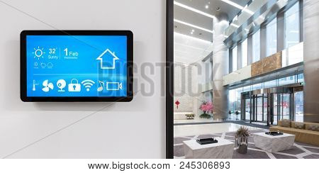 smart home and internet of things in modern office
