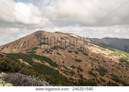 Mala Chochula, Velka Chochula, Kosarisko, Velka Hola And Latiborska Hola Hills From Prasiva Hill In