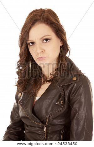 Face Expression Woman Pout
