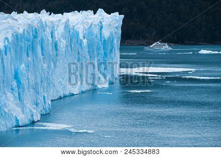 Part of the Perito Moreno Glacier, Patagonia, Argentina