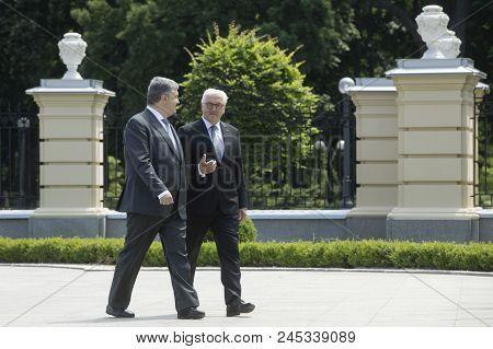 Petro Poroshenko And Frank-walter Steinmeier