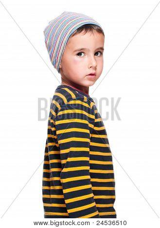 Poor Homeless Orphan Child
