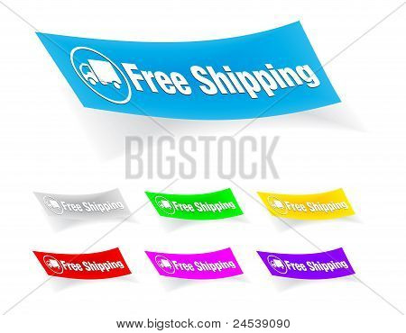 free shipping,stickers
