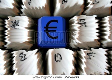 Euro On Keyboard