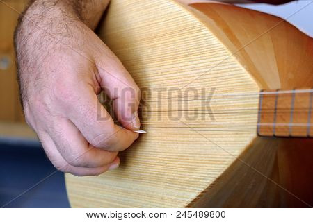 Turkish Saz-bağlama Musical Instrument, Turkish Saz Musical Instrument,