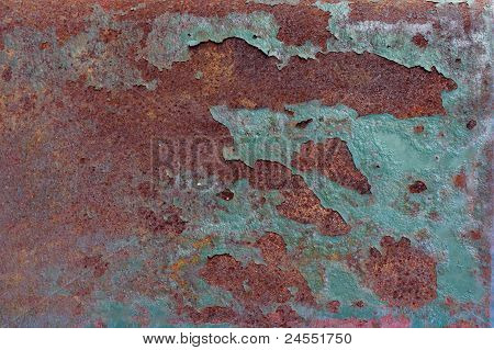 Background of rusty metal