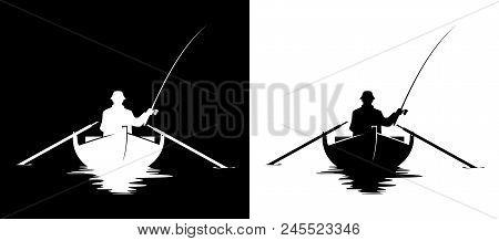Fisherman Boat Vector Photo Free Trial Bigstock