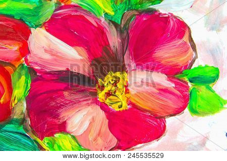 Oil Painting, Impressionism Style, Flower Painting, Still Painting Canvas, Artist,