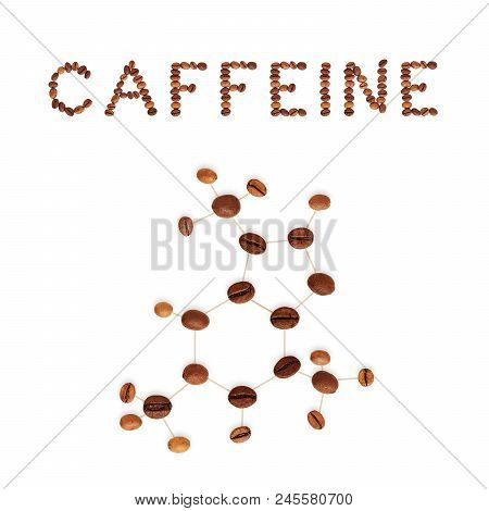 Caffeine Chemical Image Photo Free Trial Bigstock