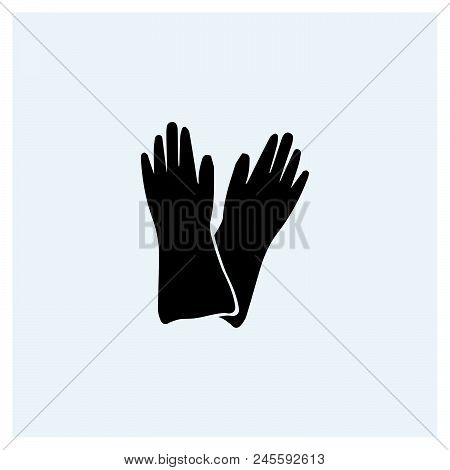 Gloves Icon Vector Icon On White Background. Gloves Icon Modern Icon For Graphic And Web Design. Glo
