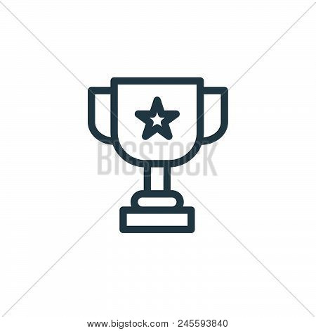 Award Vector Icon On White Background. Award Modern Icon For Graphic And Web Design. Award Icon Sign