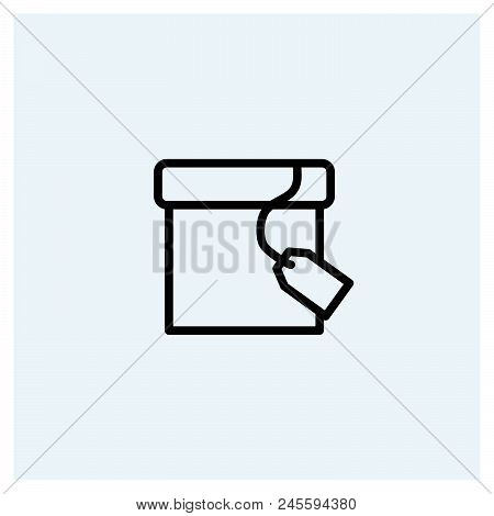 Box Icon Vector Icon On White Background. Box Icon Modern Icon For Graphic And Web Design. Box Icon