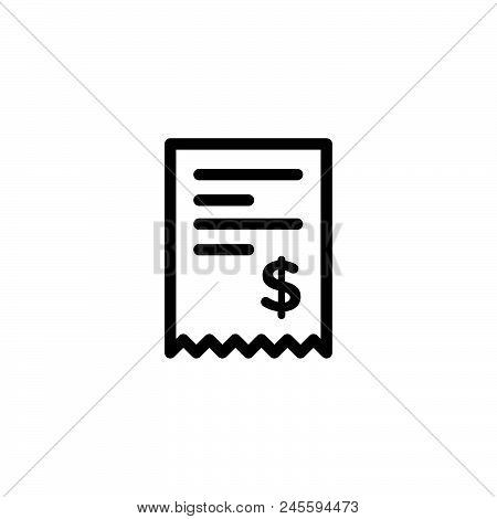 Billing Vector Icon On White Background. Billing Modern Icon For Graphic And Web Design. Billing Ico