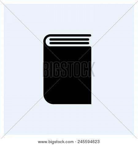 Book Icon Vector Icon On White Background. Book Icon Modern Icon For Graphic And Web Design. Book Ic
