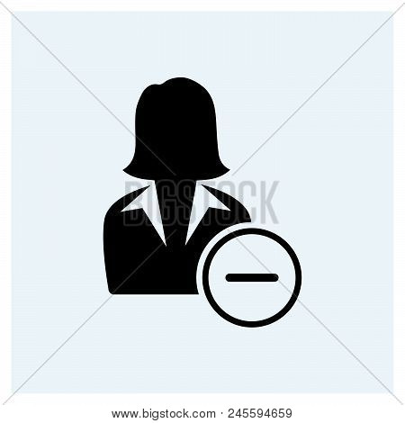 Businesswoman Icon Vector Icon On White Background. Businesswoman Icon Modern Icon For Graphic And W