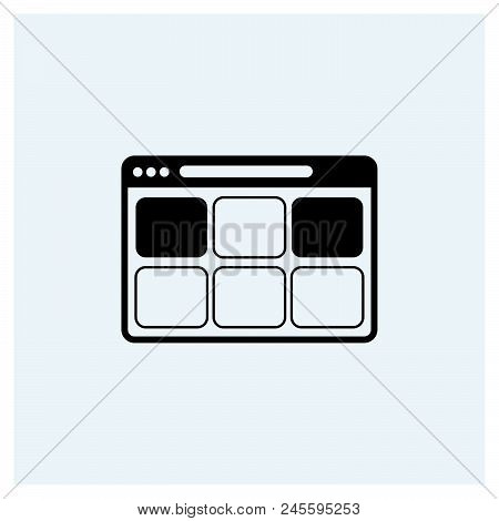 1 Vector Icon On White Background. 1 Modern Icon For Graphic And Web Design. 1 Icon Sign For Logo, W