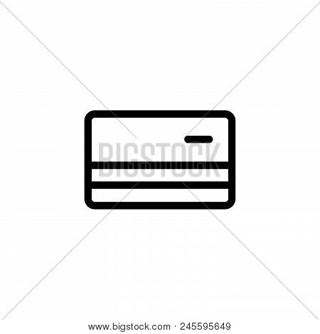 Online Card Payment Vector Icon On White Background. Online Card Payment Modern Icon For Graphic And